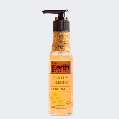 The Earth Reserve Earthy Blends Face Wash