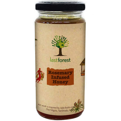 Last Forest Rosemary Infused Honey